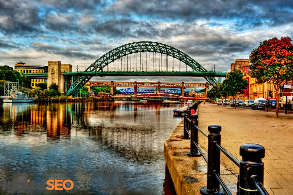 SEO agency covering Newcastle