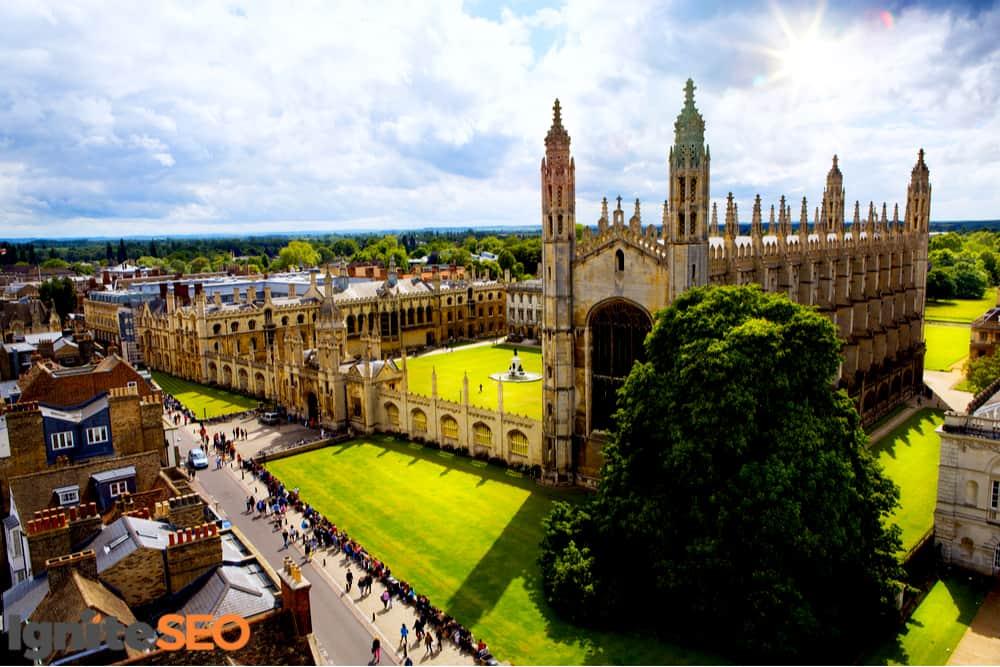 SEO agency covering Cambridge