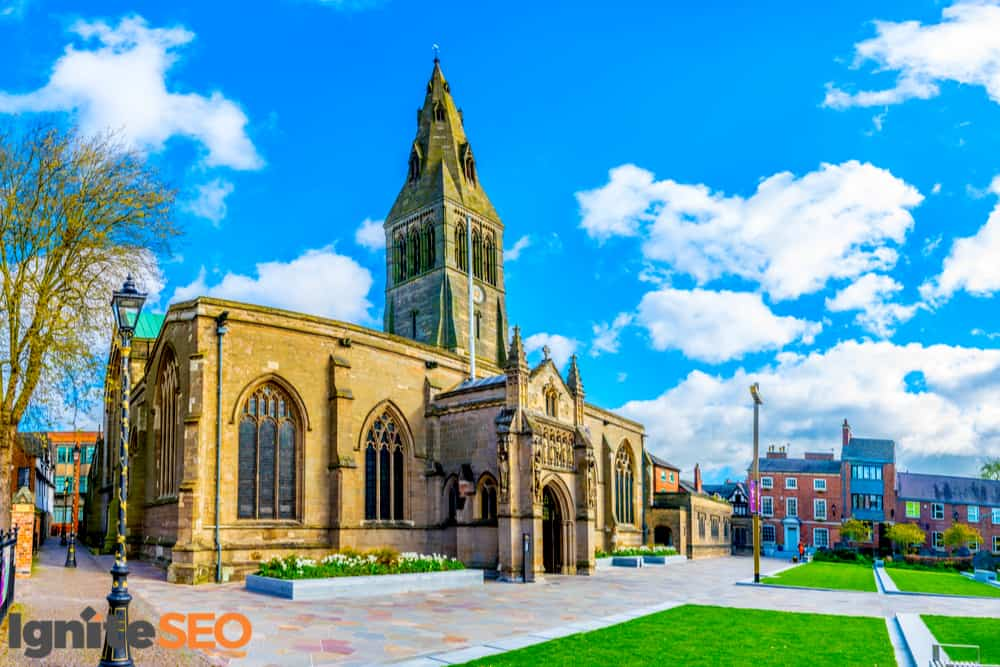 SEO agency covering Leicester