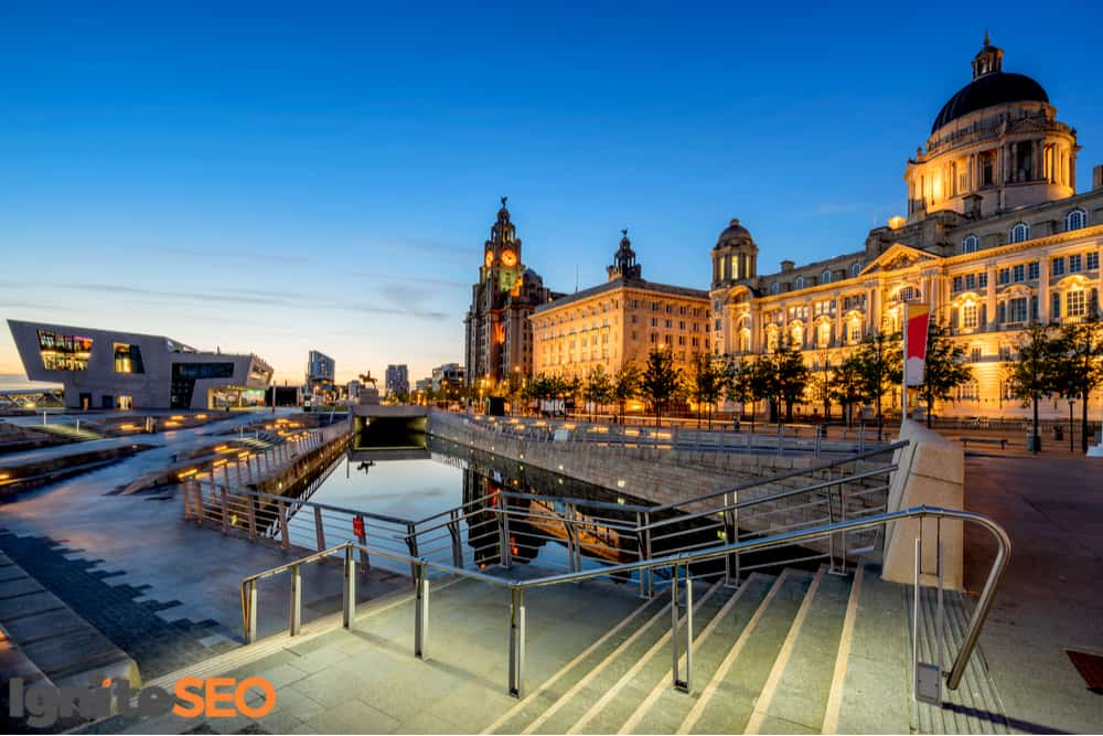 SEO agency covering Liverpool