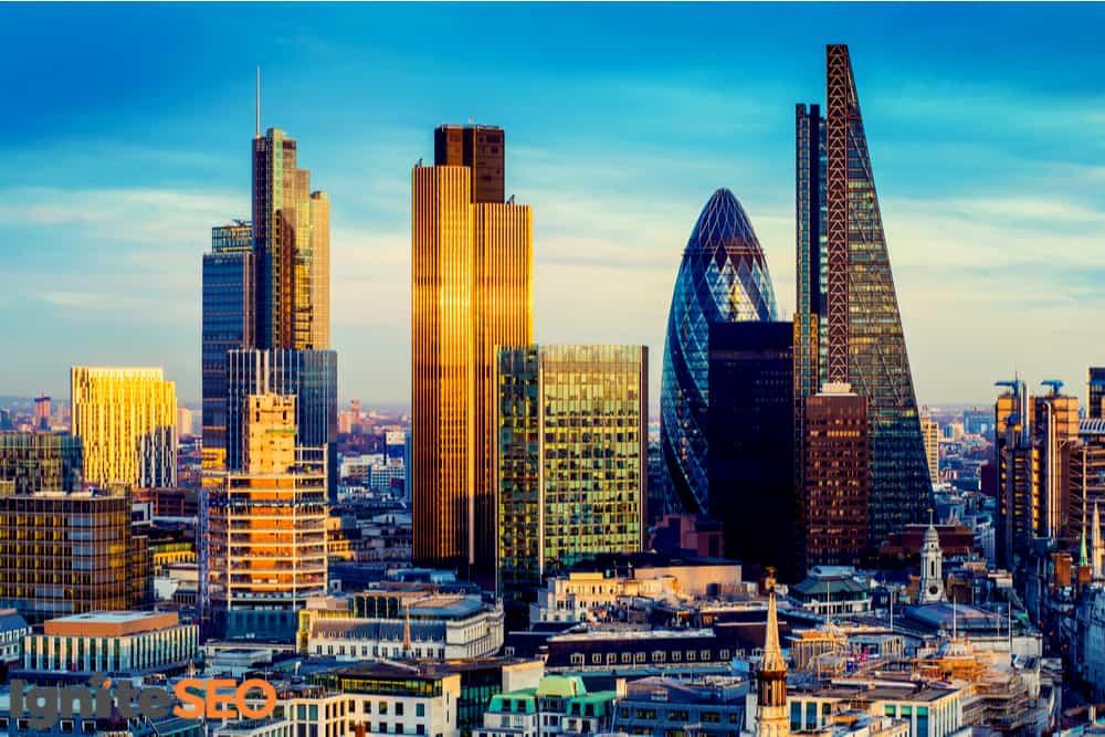 SEO agency covering London