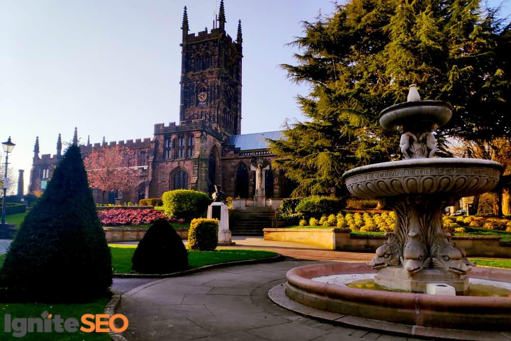 SEO agency covering Wolverhampton